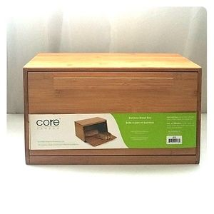 Core Bamboo Bread Box
